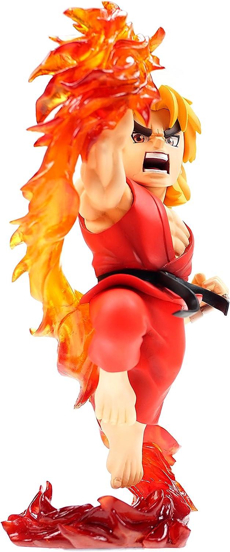 apresurado a ver Street Fighter Estatua PVC con con con sonido y luz Ken 22 cm  compras de moda online