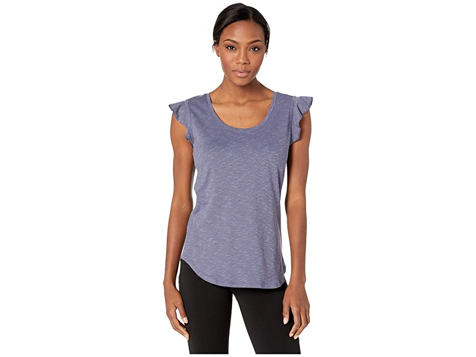 Toad&Co Rufflita Tee (Blue Shadow) Women
