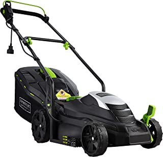 American Lawn Mower Company 50514 14-Inch 11-Amp Corded Electric Lawn Mower, Black