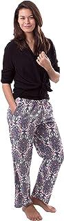 Amantes Textiles Pantalones de verano para mujer, para playa, tiempo libre, jogging, con estampado de cachemira.