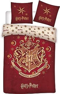 Harry Potter - Funda de edredón, Multicolor, 140 x 200 cm