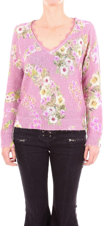 bluegirl Women's 6460PINK Pink Polyamide Sweater