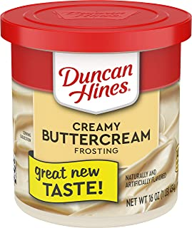 Duncan Hines Creamy Buttercream Frosting, 16 OZ