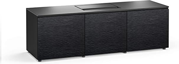 Salamander Chameleon Chicago 237 Cabinet for Integrated Dell S718QL Projector - Black Oak UST Projector Integrated Cabinet