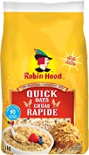 Robin Hood, 100% Whole Grains Quick Oats, 1kg/35oz, Imported from Canada}