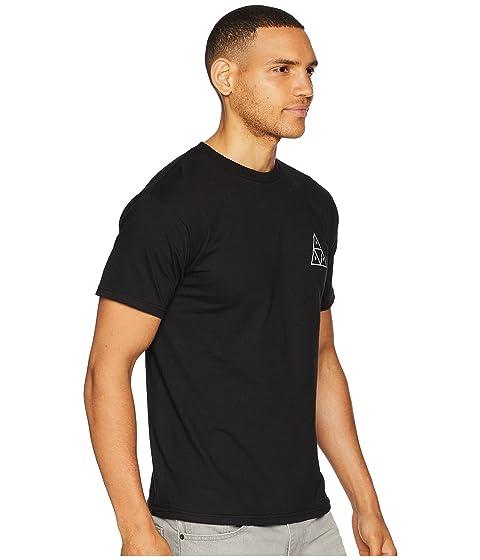 HUF Essentials TT Short Sleeve Tee Black Factory Outlet Online Cheap Cheap Online Order Cheap Price Fake Buy Cheap Shop 5wOActaS