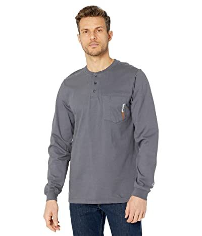 Timberland PRO FR Cotton Core Long Sleeve Henley with Pocket