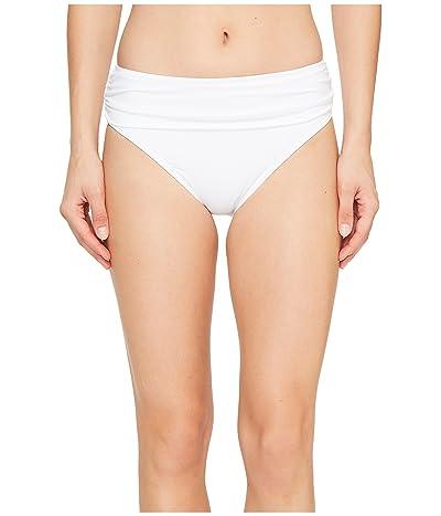 Tommy Bahama Pearl High-Waist Hipster Bikini Bottom (White) Women