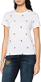 Lee Cooper Women's Flower Tee T-Shirt