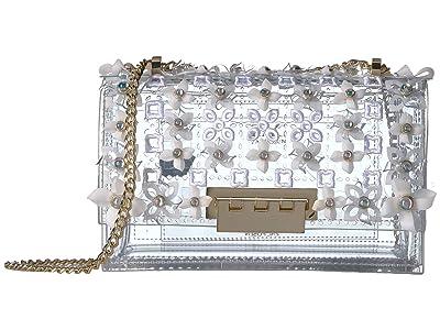 ZAC Zac Posen Earthette Chain Shoulder (Clear 1) Shoulder Handbags