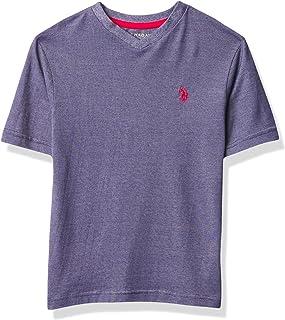 U.S. POLO ASSN. Boy's SS V-NECK TEE T-Shirt