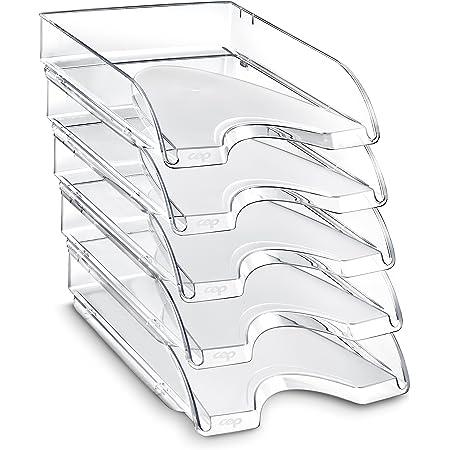CEP - Lot de 10 Corbeilles à courrier - 200+ - Cristal