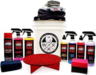 Jax Wax Exterior Essentials - Scratch-Free Wash, Wax, and Detailing Bucket Car Care – 14 Piece Kit