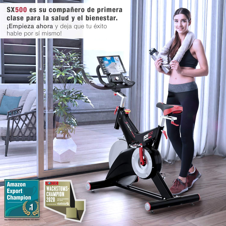 Sportstech Bicicleta estática Profesional SX500 -Marca de Calidad ...
