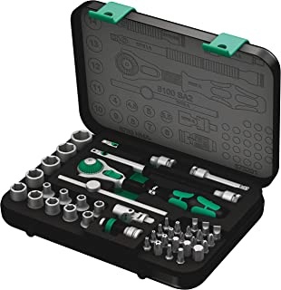 Wera Tools Zyklop 42 Piece Metric Ratchet Set 1/4