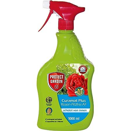 PROTECT GARDEN Curamat Plus Rosen-Pilzfrei AF (ehem Bayer Garten Baymat), anwendungsfertiges Spritzmittel gegen Pilzkrankheiten an Rosen und Zierpflanzen, 1 Liter