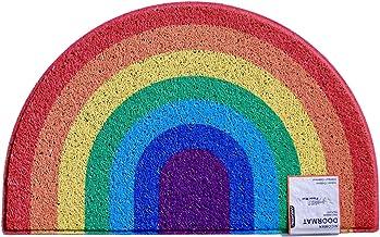 Nicoman Floor mat, Spaghetti Loopers, Rainbow, 70x44cm (27.5x17.7inches)