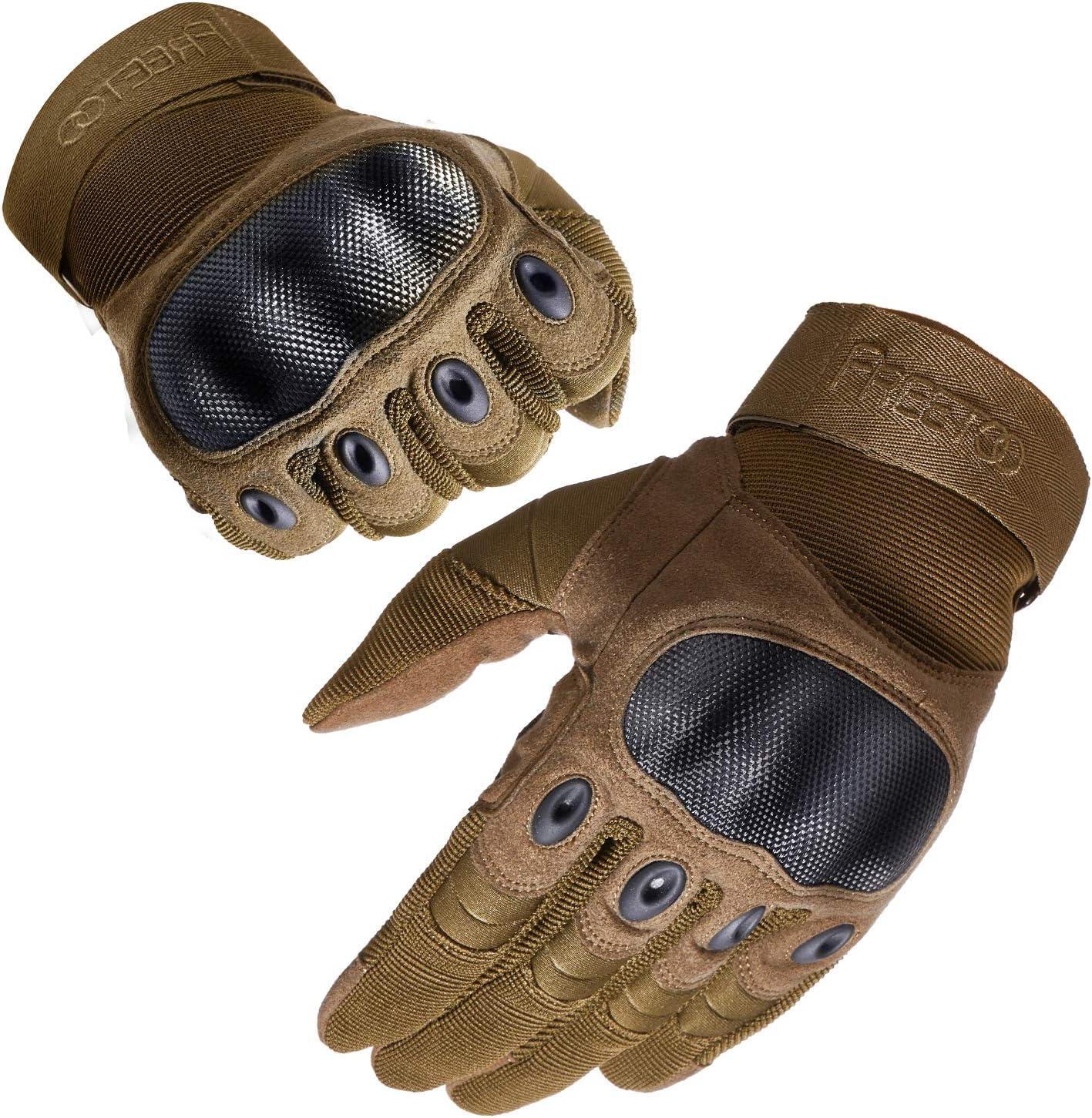 FREETOO Work Gloves Men Protection Gloves for Hiking