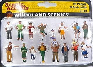 Woodland Scenics HO People (16)
