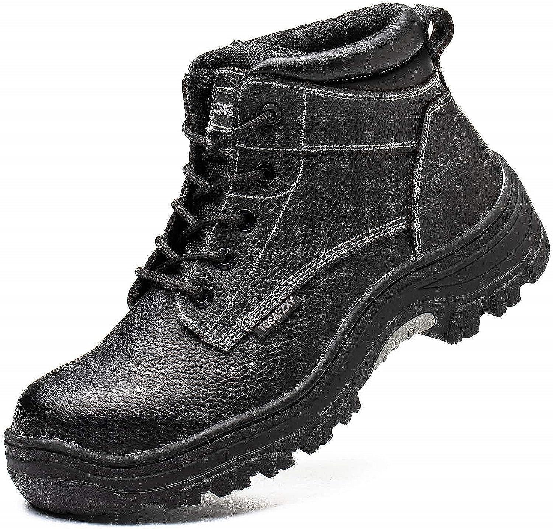 TOSAFZXY Work Boots SALE開催中 Indestructible Waterproof 予約販売 Leat Composite-Toe