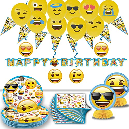 Emoji Decorations For Birthday Party Amazon