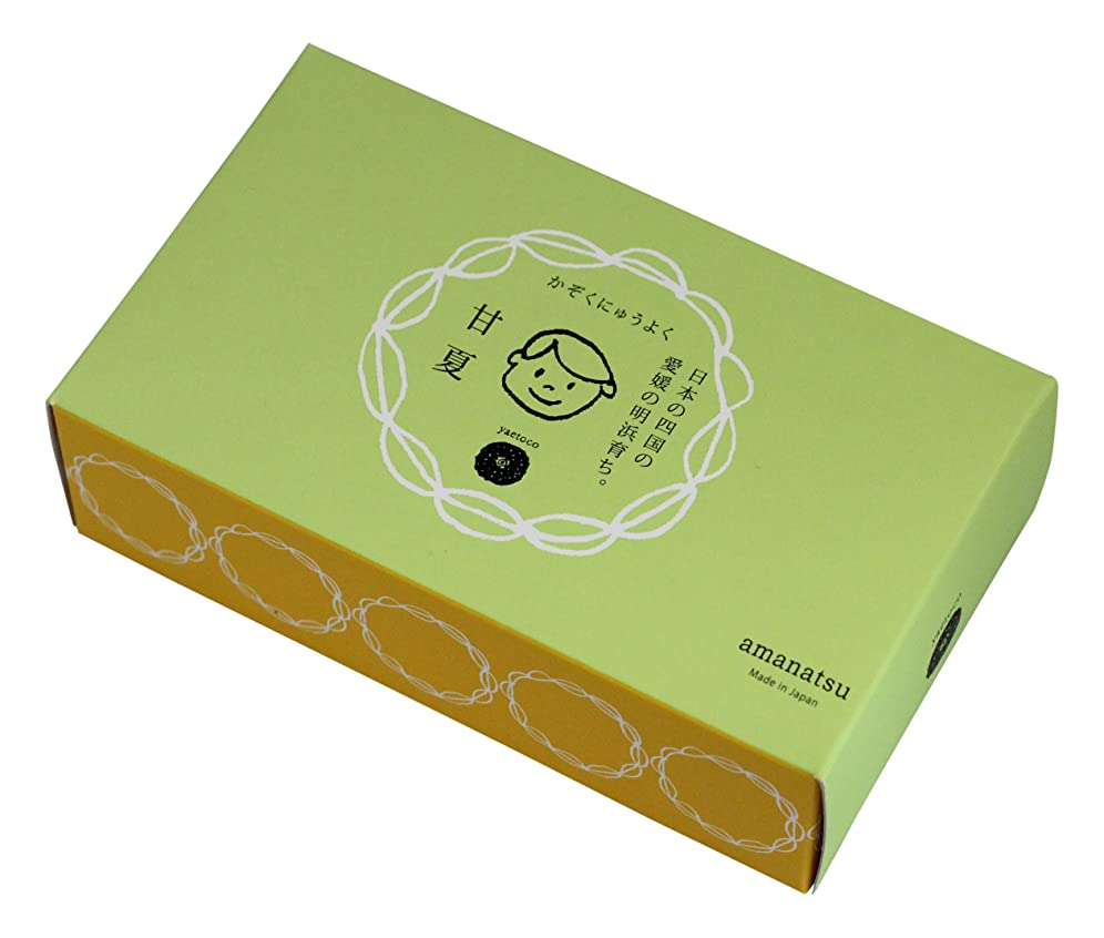 性能教予想するyaetoco バスソルト 甘夏の香り(箱売り)50g×5P