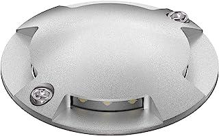 Parlat LED lámpara instalable al Suelo Bunda 4-Beam para el Exterior, transitable con Coche, Blanca fría