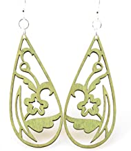 product image for Floral Tear Drop Earrings