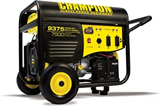 Champion 7500-Watt Portable Generator with Electric Start and 25-ft. Extension Cord