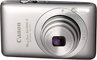 Canon PowerShot SD1400IS 14.1 MP Digital Camera with 4X Wide Angle Optical Image Stabilized Zoom and 2.7-Inch LCD (Silver)