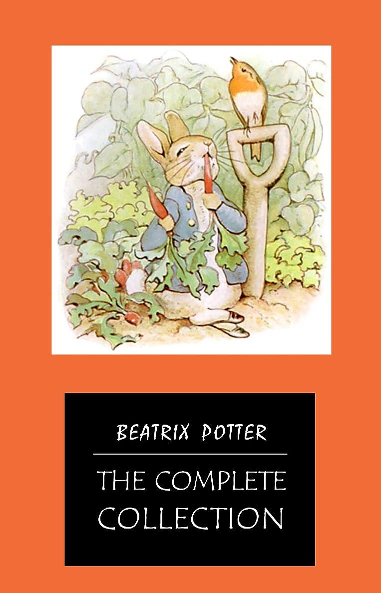 モールタイヤ閉塞BEATRIX POTTER Ultimate Collection - 23 Children's Books With Complete Original Illustrations: The Tale of Peter Rabbit, The Tale of Jemima Puddle-Duck, ... of Tom Kitten and more (English Edition)