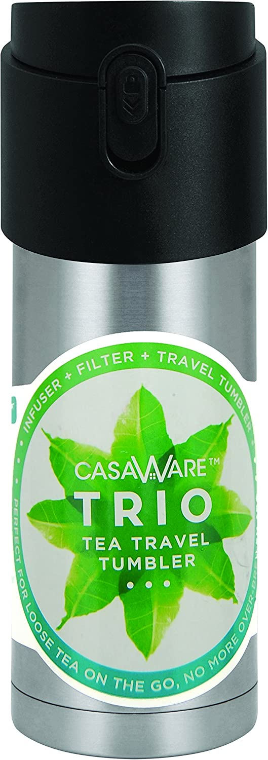 Casaware Trio 25% OFF Tea Infuser - Filter Tumbler Cheap super special price Travel 2-way with L