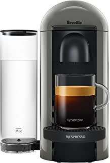 Breville BNV420GRY1BUC1 VertuoPlus Coffee and Espresso Machine, Grey