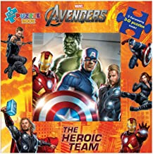 The Heroic Team (with Puzzles): The Avengers (3D Jigsaw Puzzle Book)
