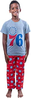 Ultra Game NBA Boys 2 Piece Pajama Lounge Pants & Tee Set