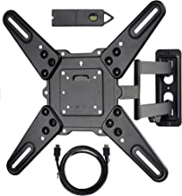 VideoSecu ML531BE2 TV Wall Mount kit with Free Magnetic...