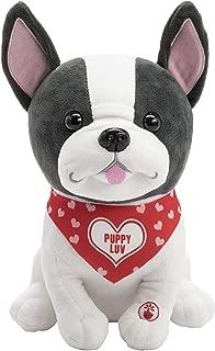 Hallmark French Bulldog Stuffed Animal, Sings Snuggly & I Know It.