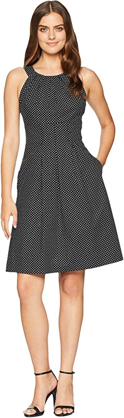 Mini Dot Halter Dress