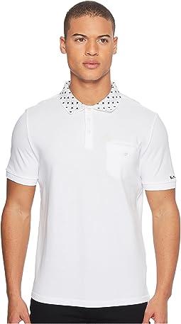 Ben Sherman - Short Sleeve Target Print Collar Polo