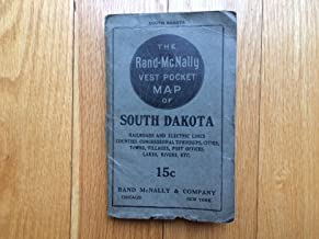 The Rand-McNally Vest Pocket Map of South Dakota