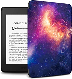 """Infiland Kindle Paperwhite 2018 Case, Lightweight Shell Case Cover Compatible with All-new Amazon Kindle Paperwhite 10th Generation 6"""" 2018 Release(Auto Wake/Sleep),Galaxy"""