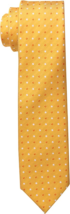 Wembley Boys Boys Big Dijon Dot Tie