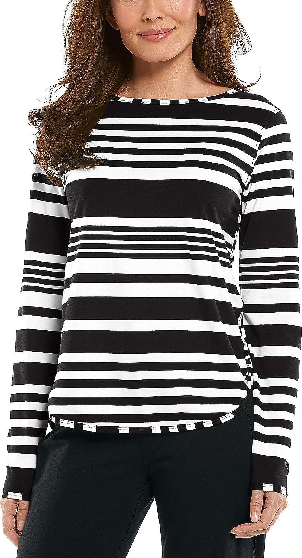 Coolibar UPF 50+ Women's Heyday Side Split Shirt - Sun Protective