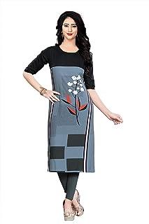 Navlik Women's Crepe Salwar Suit