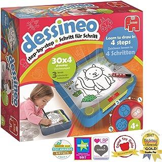 Dessineo Niño Niño/niña - Juegos educativos (Multicolor, Niño, Niño/niña, 4 año(s), 10 páginas, Alemán, Inglés) , color/modelo surtido