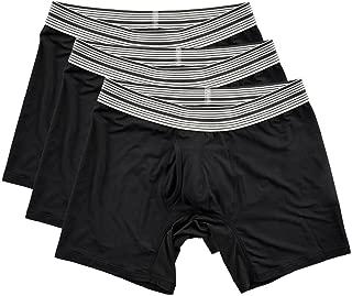Mr. Davis Men's Standard Cut Boxer Brief Underwear - 3 Pack