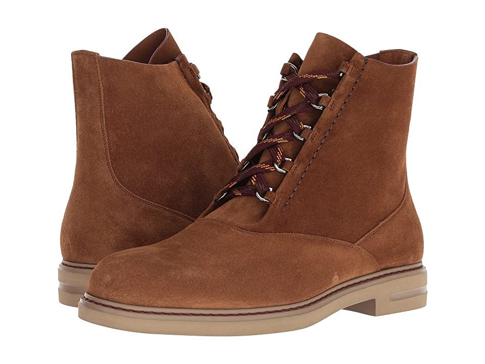 Etro Suede Lace-Up Boot (Tan) Men