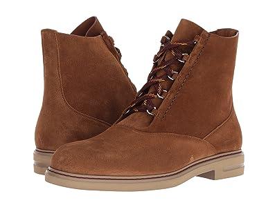 Etro Suede Lace-Up Boot (Tan) Men