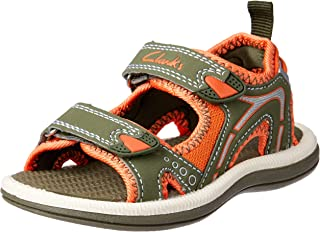 Clarks Boys' Fear II Fashion Sandals