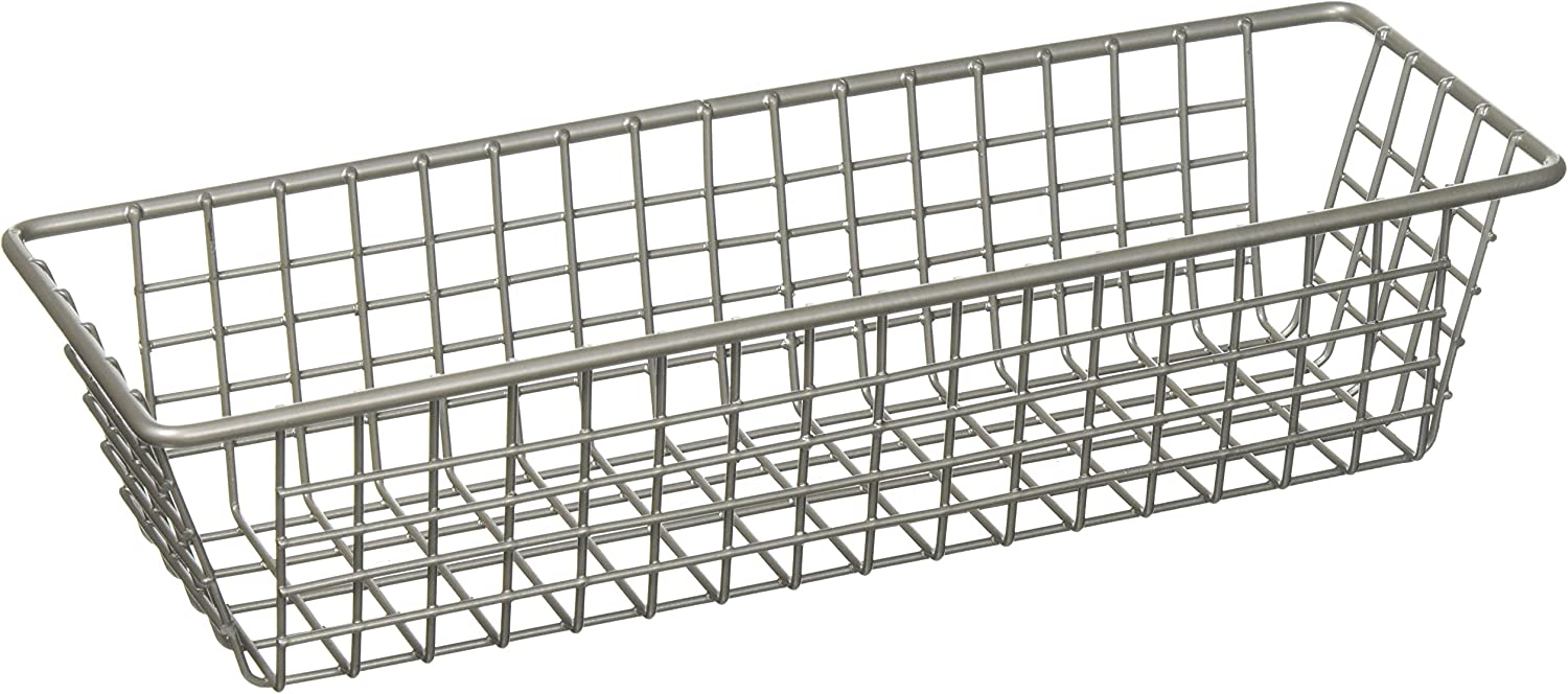 Super beauty product restock quality top Spectrum Grid Tray Sale price Organizer 9-Inch Satin Nickel